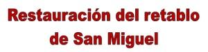 Retablo san Miguel