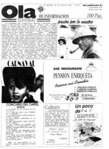Periódico Ola- La Graciosa-Febrero 1995 nº3_Página_1