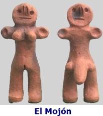 Statuettes Novios d'El Mojón à Lanzarote